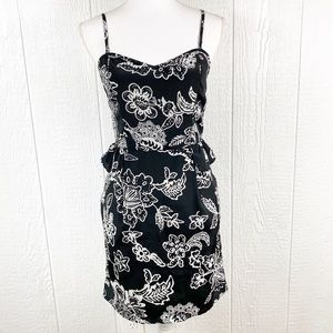 American Eagle Outfitters AEO Black White Dress
